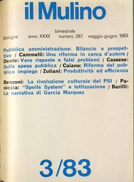 Copertina del fascicolo dell'articolo Pubblico impiego: prima e dopo la legge del 1980