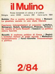 Copertina del fascicolo dell'articolo Interventi