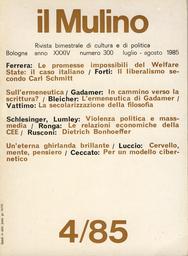 Copertina del fascicolo dell'articolo Le implicazioni politiche delle relazioni economiche della Comunità europea
