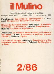 Copertina del fascicolo dell'articolo Le tavole di Licurgo. Da Senofonte a Sade