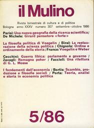 Copertina del fascicolo dell'articolo Scambio produzione e filosofie sociali