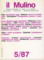 Copertina del fascicolo dell'articolo Italia in verde. L'emergere del movimento ecologista