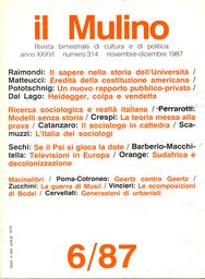 Copertina del fascicolo dell'articolo Per un nuovo rapporto tra pubblico e privato