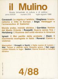 Copertina del fascicolo dell'articolo Calcio e violenza in Italia