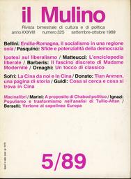 Copertina del fascicolo dell'articolo Di Federico Chabod, e della Valle d'Aosta
