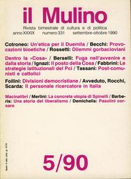 Copertina del fascicolo dell'articolo Situazione e prospettive del personale ricercatore in Italia