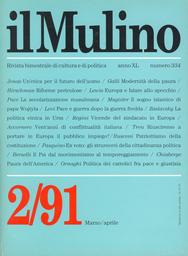 Copertina del fascicolo dell'articolo Dopo la guerra fredda: pace e guerra nel mondo
