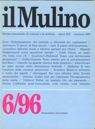 Copertina del fascicolo dell'articolo Regolamentazione e concorrenza nell'industria elettrica italiana