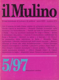 Copertina del fascicolo dell'articolo La questione nazionale fra Lega e Chiesa cattolica