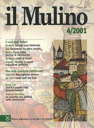 Copertina del fascicolo dell'articolo Dialogo post-elettorale (fra un cittadino e un intellettuale di sinistra)