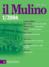 Copertina del fascicolo dell'articolo L'Europa dal passato al futuro