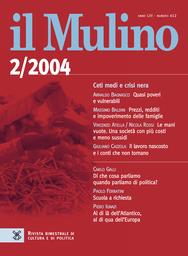 Copertina del fascicolo dell'articolo Le mani vuote. Una società con più costi e meno sussidi