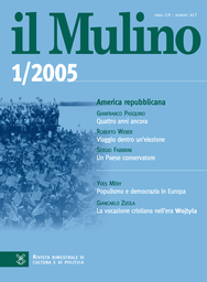 Copertina del fascicolo dell'articolo Impoverimento dei ceti medi?