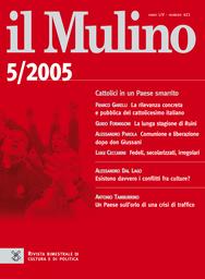 Copertina del fascicolo dell'articolo La rilevanza concreta e pubblica del cattolicesimo italiano