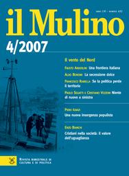Copertina del fascicolo dell'articolo L'Italia impervia fra società e classe dirigente