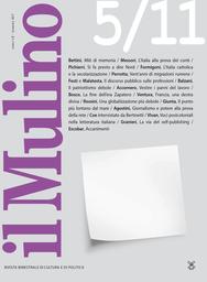 Copertina del fascicolo dell'articolo Miti di memoria