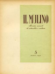Copertina del fascicolo dell'articolo Un'altra libertà, di Giorgio Bassani