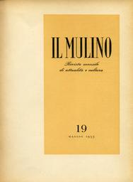 Copertina del fascicolo dell'articolo Osservazioni su economia e diritto nel pensiero di Giorgio del Vecchio