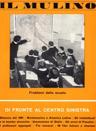Copertina del fascicolo dell'articolo Una proposta organizzativa per l'edilizia scolastica