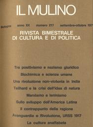 Copertina del fascicolo dell'articolo Il contrappunto della ragione. Dialettica dell'empatia e metaleptica culturale