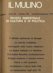Copertina del fascicolo dell'articolo La Grande Coalizione