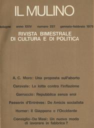 Copertina del fascicolo dell'articolo Il socialismo alla De Amicis nella Torini di fine Ottocento