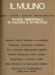 Copertina del fascicolo dell'articolo Un convegno sul Piano del lavoro