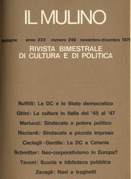 Copertina del fascicolo dell'articolo Autonomia sindacale, potere politico, controllo operaio