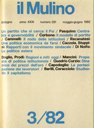 Copertina del fascicolo dell'articolo Il difficile modello di un partito secondo